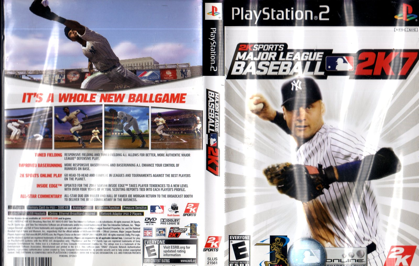 PlayStation 2 - Major League Baseball 2K7