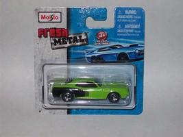 Maisto Fresh Metal Die-Cast Vehicles ~ 1971 Plymouth Hemi 'Cuda (Green) - $5.00