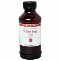 LorAnn Super Strength Butter Rum Flavor, 4 ounce bottle - $21.53