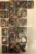 Lot of 40 Marvel Super-Villains Collector Cards From 1992 Impel - $18.70