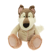 NICI Husky Girl Dog Stuffed Animal Plush Toy Dangling 20 inches 50 cm - $48.00
