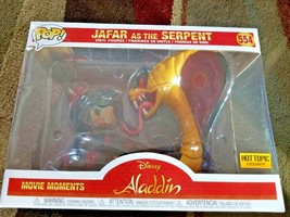 Funko Pop! Movie Moments Aladdin Jafar As The Serpent 554 Hot Topic Excl... - $35.99