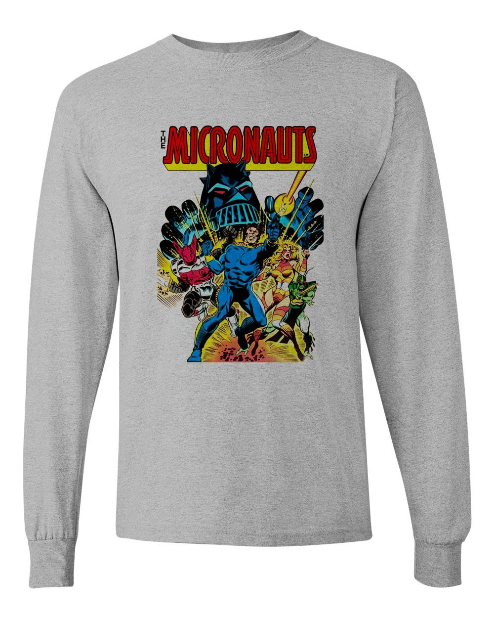 Ve t shirt marvel comics nostalgic toys 1980 s comic book for sale online graphic tee store gray