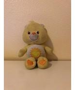 """Plush Care Bears Funshine Bear 8"""" Play Along TCFC 2003 - $0.98"""
