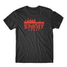 Sydney Australia Skyline Retro Style T-Shirt - $23.99+