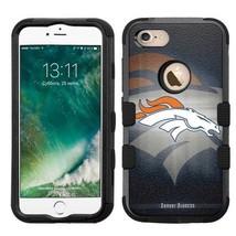 for Apple iPhone 8 Impact Armor Rugged Hard Hybrid Case Denver Broncos #BG - $18.65