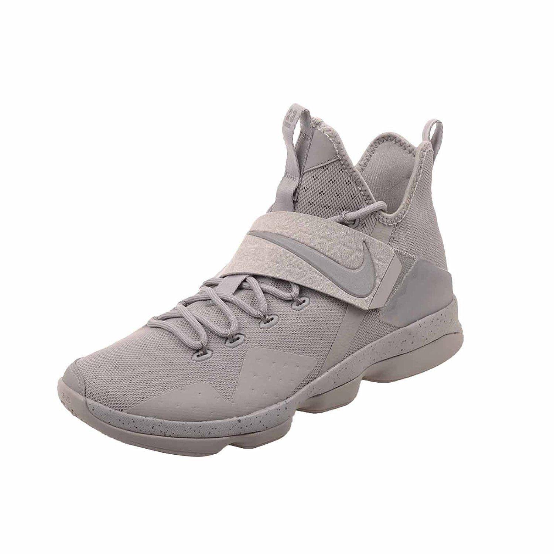 b064997e18 Men's LeBron XIV Basketball Shoes, 852405 007 Silver/Reflect Silver Multip  Sizes