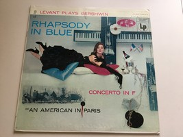 Record - Rhapsody in Blue - Levant plays Gershwin - Concerto in F - Viny... - $6.99