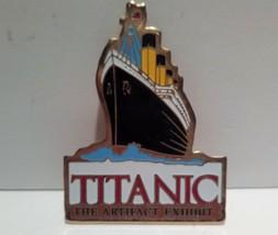 Titanic The Artifact Exhibit Souvenir Key chain Key ring - $9.89