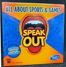 Speak Out Party Game Expansion Pack All About Sports and Games - $9.89