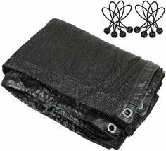 Greenhouse Covers Sunblock Shade Cloth Net Mesh Tarp 90% UV-Resistant Pr... - $34.64