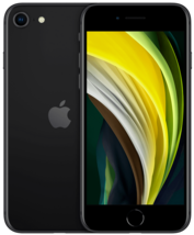Apple iPhone SE 64GB 2nd Gen 2020 A2275 Unlocked (GSM+CDMA) Black New / Sealed - $384.99