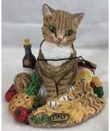 Fat Cats Italy International Islandia Figurine 1998 Resin Figure FC-07F - $25.73