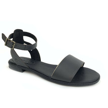 Timberland Women's Cherrybrook Black Leather Sandals A1OZ3 - $59.99