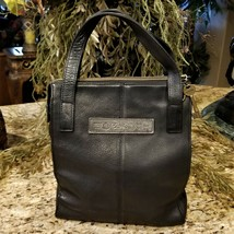 FOSSIL 1954 Key Collection Black Pebble Leather Tote Bag 75082 - $69.95