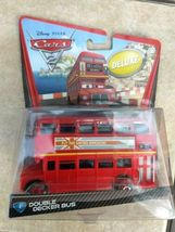 2010 Mattel sealed Disney Cars Pixar Double Decker Deluxe Bus metal toy figure  image 10