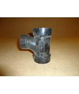 Standard Sanitary Tee Black 2in x 2in x 1 1/2in Plumbing ABS - $6.68