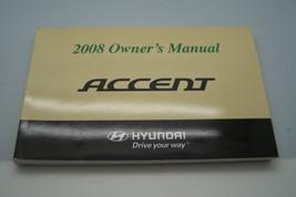 2008 hyundai accent owners manual new original - $15.49