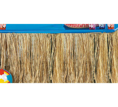 Real Raffia Grass TABLE Skirt 9' Luau Hawaiian Tropical Party Birthday - $13.06