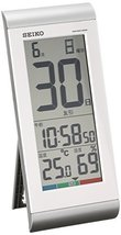 Seiko CLOCK clock Himekuri calendar watch (silver) SQ431S - $91.17