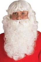Rubies Weihnachtsmann Bart & Perücke Elfen Weihnachten Holiday Hut Luxus... - £32.54 GBP