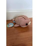 Mamegoma San-X Little Seal Plush Shimagoma Stripe-goma Brown Color Cute - $21.11