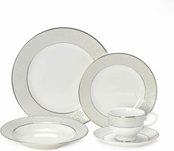 Mikasa Parchment Dinnerware, 5pc Settings, Plates, Bowls, Cups & Saucers... - $15.99+