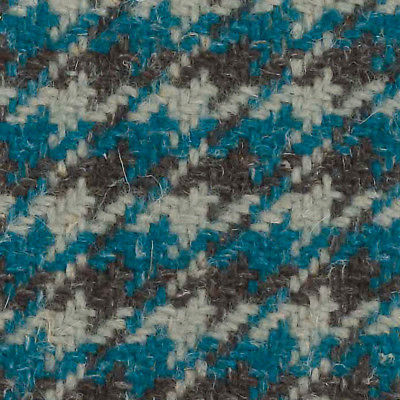 1.375 yd Camira Upholstery Fabric Nettle Nomad Wool Journey Houndstooth OWN01 NM