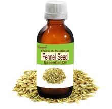 Fennel Seed Pure Natural Uncut Essential Oil 50 ml Foeniculum vulgare by... - $29.45