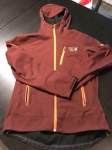 Mountain Hardwear Principia Softshell Jacket - Men's Medium - Shiraz/Burgundy - $93.49