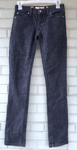 Juicy Couture Womens Black Stretch Denim Jeans Size 24 - $19.51