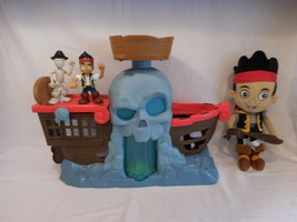 Disney Jake and the Never Land Pirates BATTLE AT SHIPWRECK FALLS + Plush... - $33.02