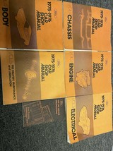1975 1976 FORD LINCOLN MERCURY CAR MODELS Service Shop Repair Manual Set... - $69.25