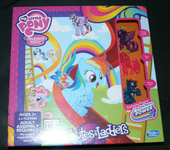 Hasbro My Little Pony Friendship Is Magic Chutes & Ladders Game Board Sealed Box - $26.92