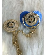 Evil Eye Pacifier and Clip - $35.00+