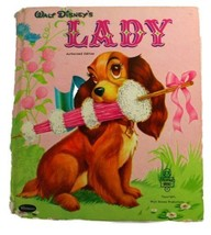 Walt Disney's LADY. A Whitman Tell-A-Tale book. No. 2417 [Hardcover] [Ja... - $4.50