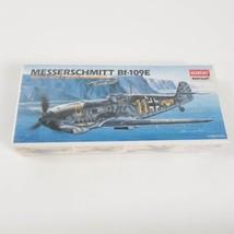 Academy Minicraft Messerschmitt Bf-109E Scale 1/72 Model Kit 2133 NEW - $14.84