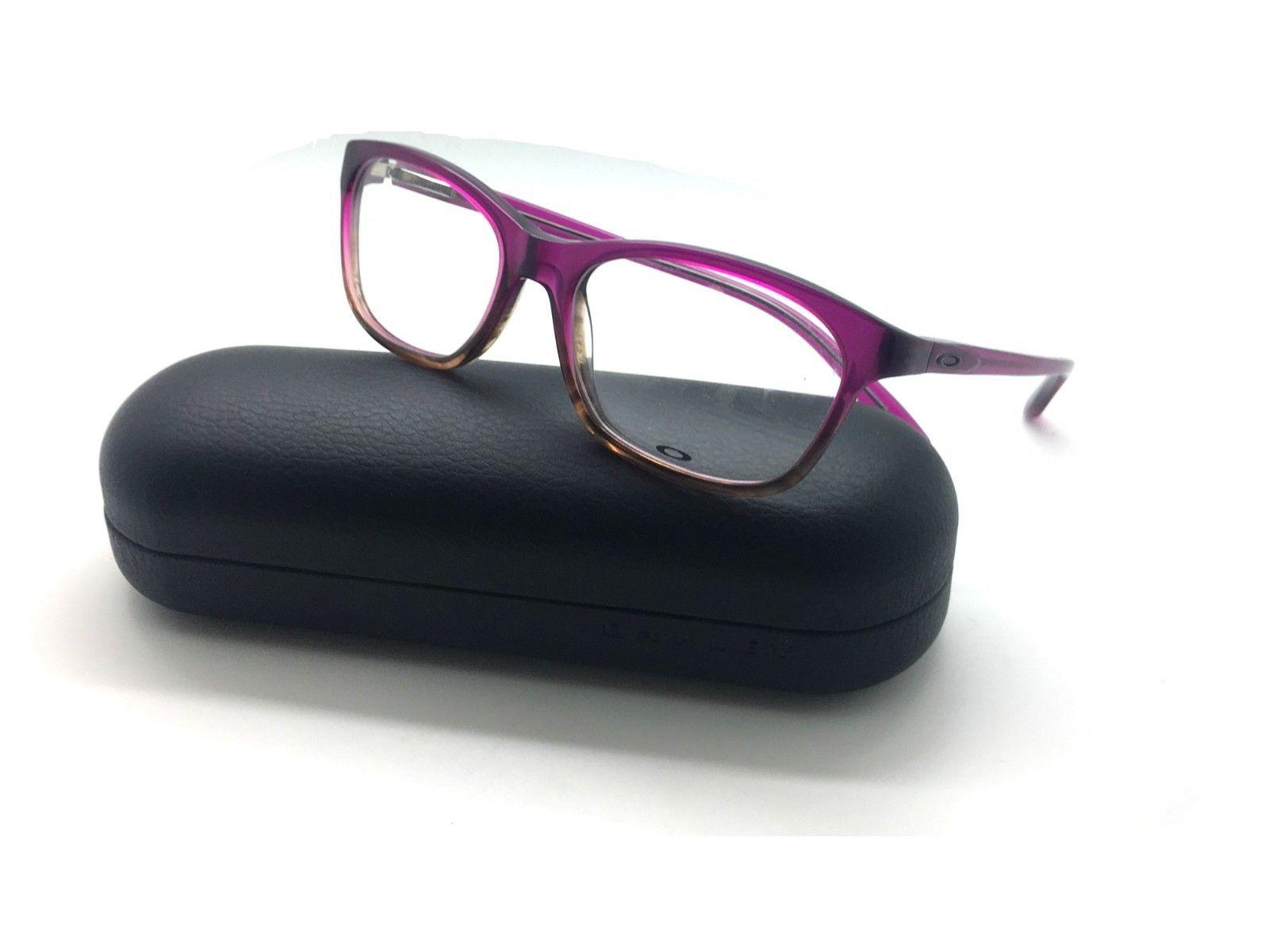 9d4c90858b Oakley Authentique Lunettes Ox 1091 0352 Taunt Violet Décolorant 52-16-130  Nwc