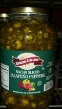 Supremo Italiano: Sliced Jalapeno Peppers 1 Gallon image 1