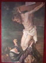 Catholic Print Picture Mary &  St. John at Crucifixion - ready to be framed - $16.82