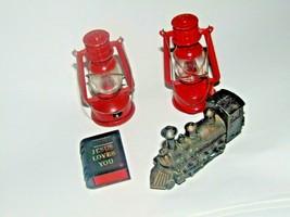 "Lantern Pencil Sharpener Miniature 3"" Red Part-Bible-Train-Camping-Schoo... - $10.88"