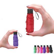 Mini Pocket Umbrella Women Uv Small 180g Rain Waterproof Men Girls Trave... - $12.99