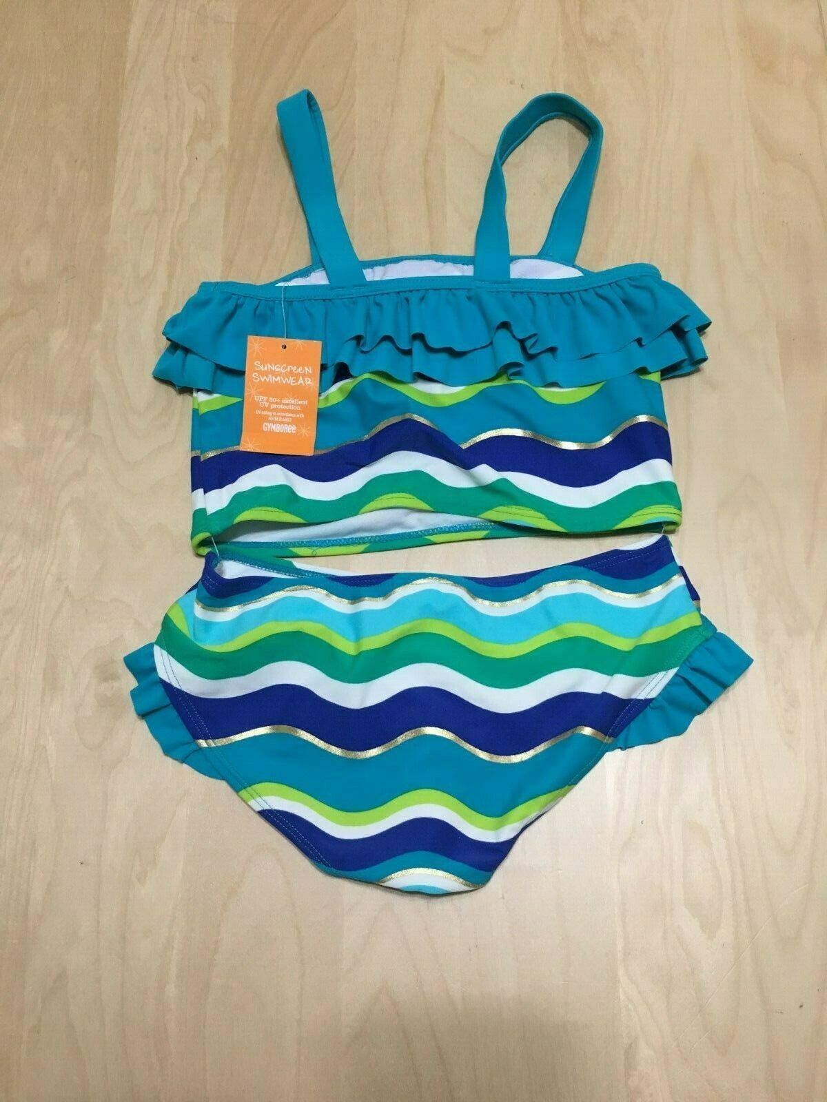 Swimsuit SunScreen UPF Gymboree Girl size 6-12 months New