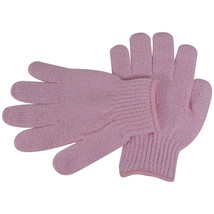 Acqua Sapone Exfoliating Body Massage Gloves - Pink 1 pair - $8.25