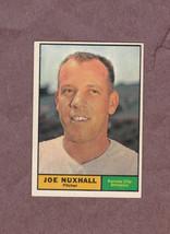1961 Topps # 444 Joe Nuxhall Kansas City Athletics Nice Card - $3.29