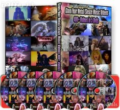 METAL - HARD ROCK 80S MUSIC VIDEO COLLECTION DVD - $49.20