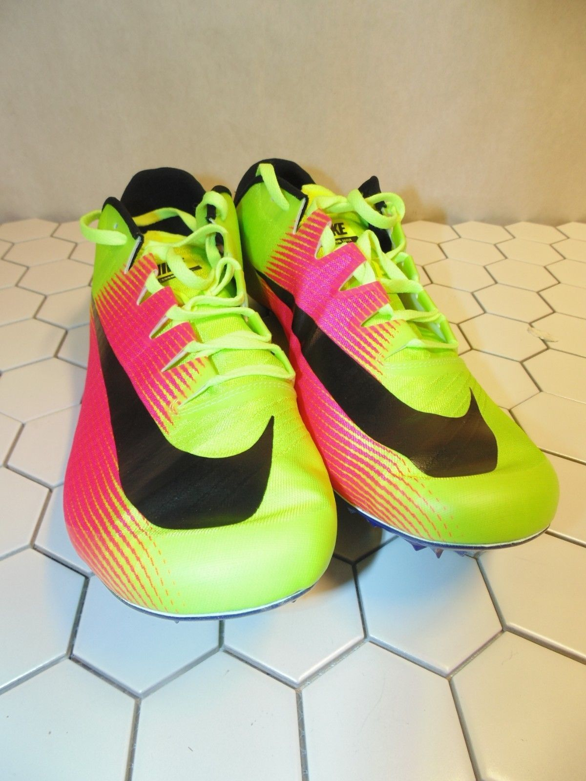 257fef6554a7 Nike Mens Zoom JA FLY 3 OC Rio Track   Field Spikes Volt 882032-999