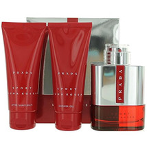 Prada Luna Rossa Sport Cologne Spray 3 Pcs Gift Set image 3