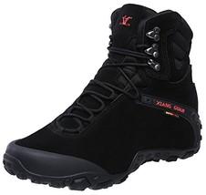 XIANG GUAN Men's Outdoor High-Top Waterproof Trekking Hiking Boots Black 11 - $115.10