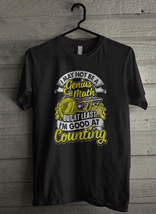 But at least i'm good at counting Men's T-Shirt - Custom (3435) - $19.12+